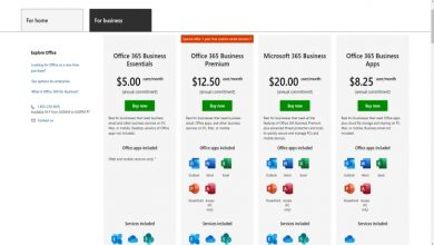 Photo of Microsoft and Office 365 subscription comparison