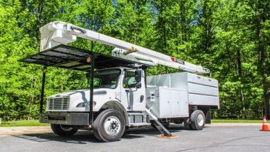 Photo of Use of Forestry Bucket Trucks to Prevent Forest Fires
