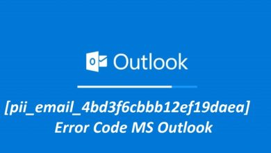 Photo of How to solve [pii_email_4bd3f6cbbb12ef19daea] error?