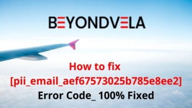 """Photo of How to fix and solve """"[pii_email_aef67573025b785e8ee2]"""" error?"""