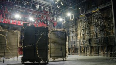 Photo of Backstage Equipment for Theatre Shows
