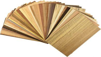 Photo of Wood Veneer and Cork Wood